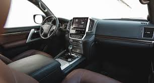 Toyota Land Cruiser Interior 2017 Toyota Land Cruiser Review Power Options And Price