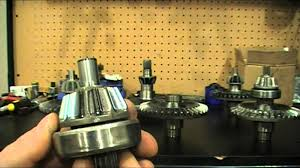 can am g2 differential rebuild youtube