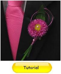 How To Make Boutonnieres How To Make A Boutonniere Easy Wedding And Prom Flower Tutorials