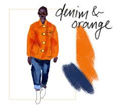 Color Combinations With Orange by How To Match Your Colors For Spring Racked