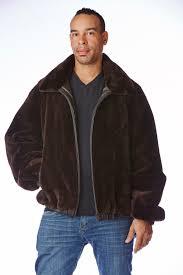 men s sheared beaver jacket reversible to leather sakowitz furs