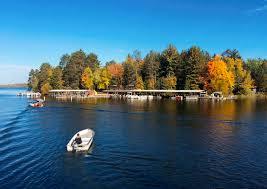 minnesota island bursts with autumn color boston herald