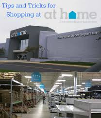 tips and tricks for shopping at at home the home decor superstore
