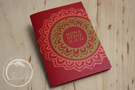Red Wedding Invitations Bollywood Moroccan Red Wedding Invitation Pocadot Invitations