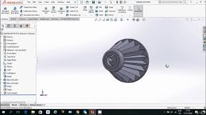 how to make engine air filter in solidworks video tutorial