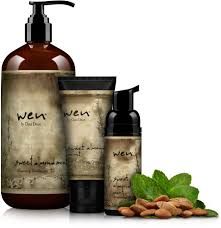 wen sweet almond mint cleansing conditioner basic kit
