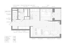 space saving floor plans home designs full floor plan 52sqm minimal industrial apartment