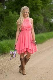 coral bridesmaid dresses 100 2016 cheap country coral bridesmaid dresses neck chiffon