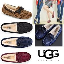 ugg womens dakota slippers sale sale ugg dakota this flat crocodile leather leopard