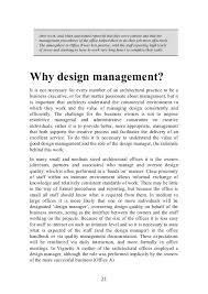 master design management design management for architects