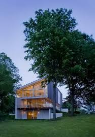 Modern Lake House Home Designs Glass Lake House Design In Virginia The Buisson