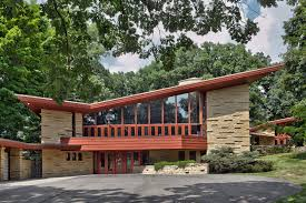 Dynamic Roofing Concepts by The 1952 Elam House Is A Frank Lloyd Wright Masterpiece Of Soaring