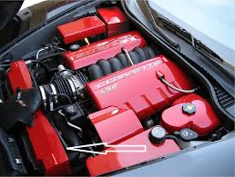 2005 corvette engine c6 corvette 2005 2013 custom painted radiator shroud corvette mods