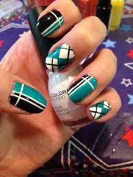 nail art with tape strips google search nail art pinterest