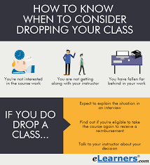 do you when to drop your online class