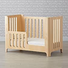 islington crib bed rail the land of nod