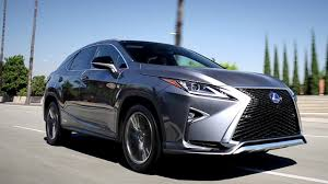 lexus suv inside 2017 lexus rx review and road test youtube