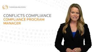 conflicts compliance management thomson reuters