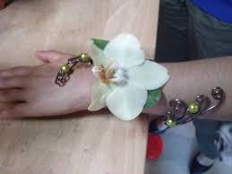 Bracelet Fleur Mariage Mariage