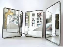 tri fold bathroom mirror tri fold vanity mirrors bathroom bathroom mirrors