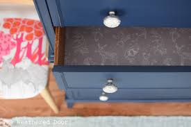 Hepplewhite Bedroom Furniture by Before And After Stacked Hepplewhite Dresser In Navy The