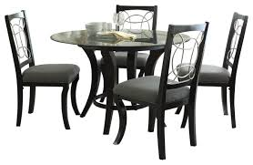 5 dining room sets steve silver cayman 5 dining room set with faux marble