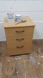 Painting Particle Board Kitchen Cabinets Veneer Particle Board Filing Cabinet With Chalk Paint By Annie
