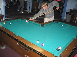 l shaped pool table the l shaped pool table in seward ak lacrosse lebowski flickr