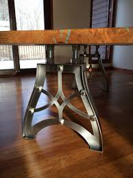 antique metal table legs handcrafted vintage industrial steunk metal table legs with