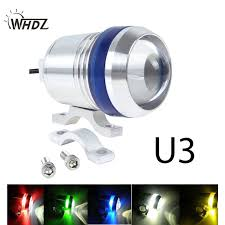 Led U3 Whdz 1pc 12v 30w Motorcycle U3 Led Driving Fog Spot Light