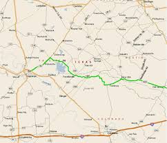 Map Of Spring Texas Houston T Riders Shiner Ride