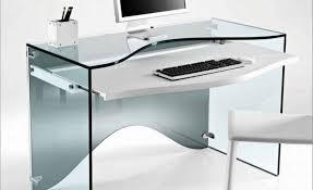 Glas Desk Acceptable Picture Of Slim Glass Desk Near Wooden Top Desk Lovely