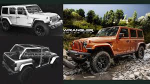 jl jeep diesel leaked renders may show 2018 jeep wrangler jl rubicon unlimited