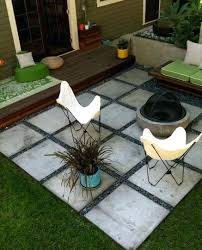 Backyard Flooring Options - full image for garden ideas for around a patio 31 insanely cool
