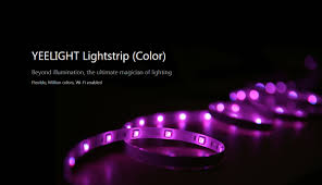 color led light strips yeelight smart wifi led light strip megaone pakistan