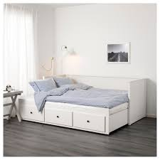 hemnes day bed frame with 3 drawers grey 80x200 cm ikea with