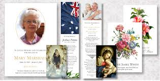 funeral stationery funeral templates easy to print at home memorial funeral