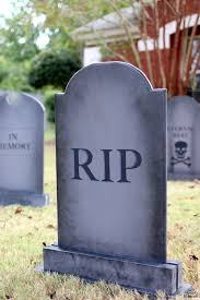 tombstones for fascinating diy lawn gravestones the house of wood how