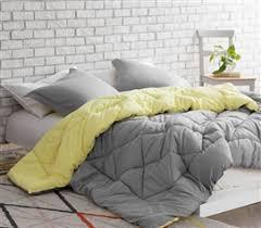 Yellow Comforter Twin Limelight Yellow Pin Tuck Twin Xl Comforter