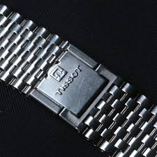 stainless steel bracelet tissot images Fs tissot vintage chronograph beads link nsa band 2 pc clasp jpg
