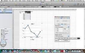 Mac Spreadsheet Program Making A Line Graph With Mac Numbers Youtube