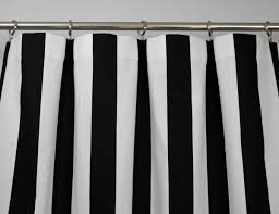 Blue And White Striped Shower Curtain Black White Striped Curtains Uk Curtain Menzilperde Net