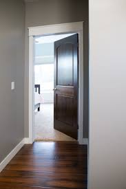 Painting Interior Doors by Interior Doors White Trim And Door Topper Paired With A Two