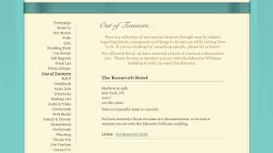 registry wedding website what to include on your personal wedding website ewedding