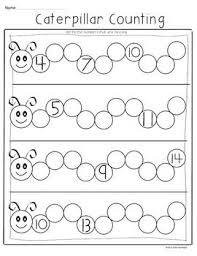 freebie caterpillar counting supports common core for