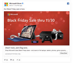 what time or day do people start gathering at best buy for black friday deals 55 facebook ads that get the holiday advertising right