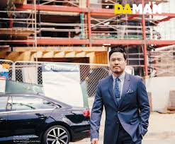 exclusive feature randall park da man magazine