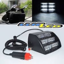 golf cart led strobe lights jeep 4x4 offroad boat golf cart security 18 white led strobe light