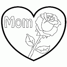 coloring pages hearts and roses aecost net aecost net