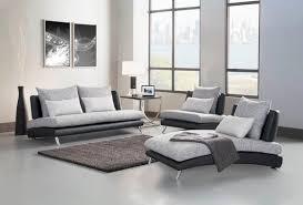 Modern Armless Sofa Modern Living Room Sectional Sofa With Chaise Fabric Vinyl Dc
